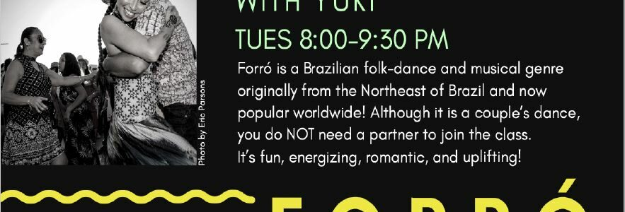 Tuesday Nights: Forró Dance Class